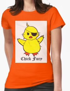 Chick Fury Womens Fitted T-Shirt