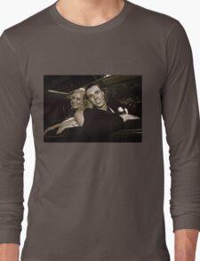 Inside the Wedding Limo Long Sleeve T-Shirt