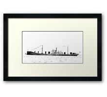 Bulk Carrier Isaac T Mann Framed Print