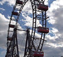 Wiener Riesenrad - Ferris Wheel by Lee d'Entremont