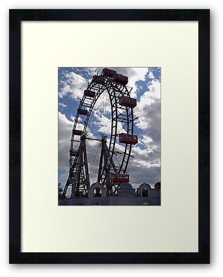Wiener Riesenrad - Ferris Wheel by Lee d'Entremont