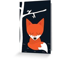 The Night Is Young Greeting Card
