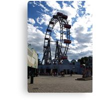 At the Prater Canvas Print