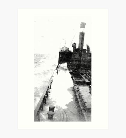 In The North Sea (1) Art Print