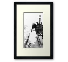 In The North Sea (1) Framed Print