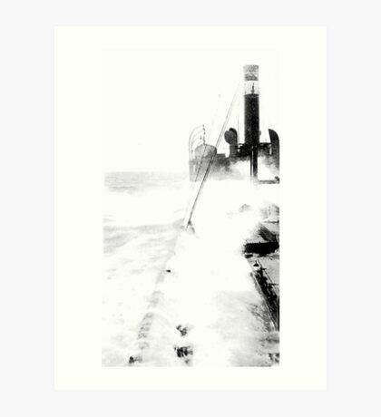 In The North Sea (2) Art Print
