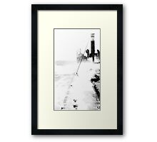 In The North Sea (2) Framed Print