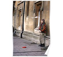 Street Busker Poster