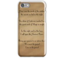 Charmed Spell iPhone Case/Skin