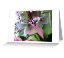 Faded Bloom Greeting Card