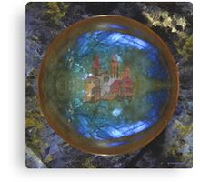 ONCE UPON A TIME ~ The Castle by tasmanianartist Canvas Print