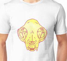 cat skull transparent Unisex T-Shirt