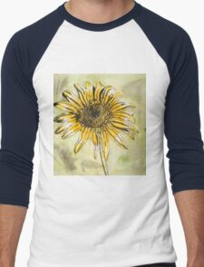 Dandelion dreaming Men's Baseball ¾ T-Shirt