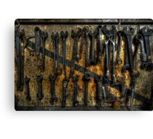 Spanners Canvas Print