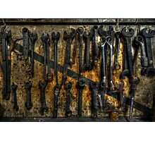 Spanners Photographic Print