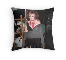 Snow White, Rose Red Throw Pillow