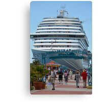 Cruise Liner Canvas Print