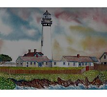 Pigeon Point Light House Photographic Print