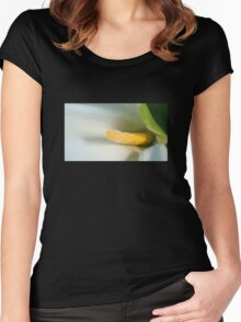 Calla Lilly Close-Up Women's Fitted Scoop T-Shirt