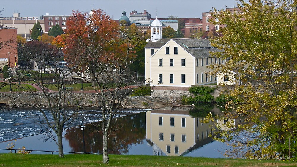 Slater Mill Historic Site - Fall in Rhode Island *featured by Jack McCabe