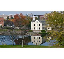 Slater Mill Historic Site - Fall in Rhode Island *featured Photographic Print