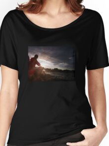 Sailing into the Sunset Women's Relaxed Fit T-Shirt