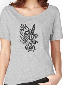 Dagger and Heart - Black Women's Relaxed Fit T-Shirt