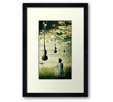 Musical Inspiration Framed Print