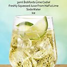 Frangelico, Lime and Soda Recipe Card by antsp35