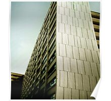 San Francisco Abstract Image of Architecture Poster