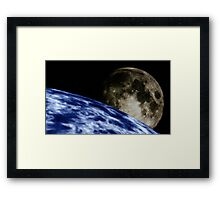 A Different Approach Framed Print