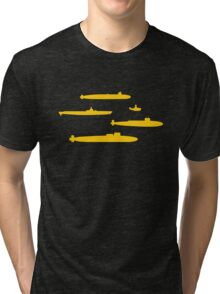 Yellow Submarines Tri-blend T-Shirt