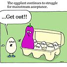 eggplant by sardonicsalad