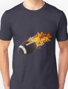 Flaming FootBall T-Shirt