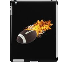 Flaming FootBall iPad Case/Skin
