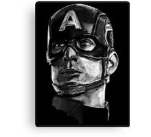 Captain America Canvas Print