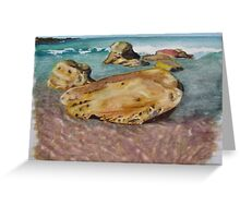 """Rock, Little Beach"" Greeting Card"