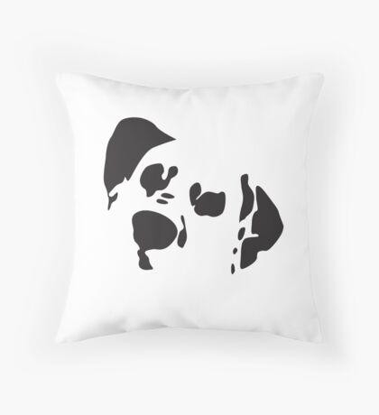 Bite Me - Dalmation Throw Pillow