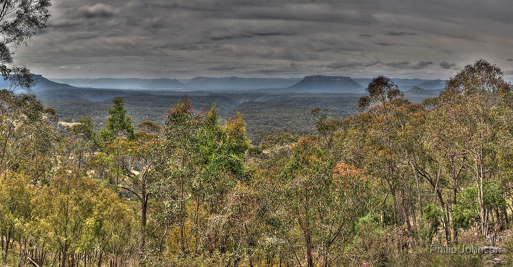 Capertee Valley (45 Exposure HDR Panoramic) - Capertee Valley, NSW, Australia - The HDR Experience by Philip Johnson