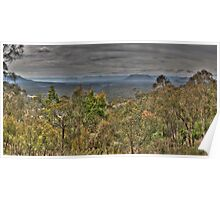 Capertee Valley (45 Exposure HDR Panoramic) - Capertee Valley, NSW, Australia - The HDR Experience Poster