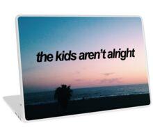 The Kids Aren't Alright - Fall Out Boy Lyrics Laptop Skin