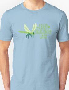 Crazy Dragonfly lady (Cute) T-Shirt