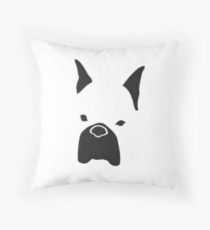 Bite Me - Boxer Throw Pillow