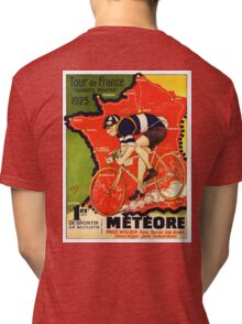 Vintage French bicycle race advert Tri-blend T-Shirt