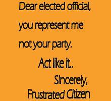 Dear Elected Official T-Shirt