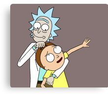 """Rick and Morty """"Nuggie"""" Canvas Print"""