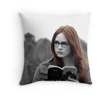 Amy Pond Throw Pillow