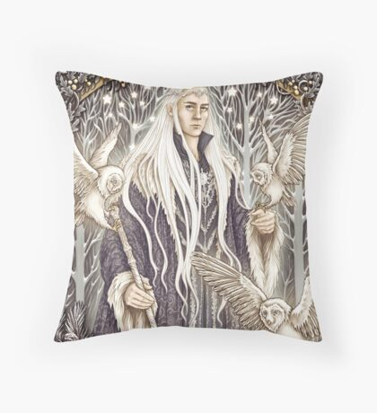 Elven King Throw Pillow