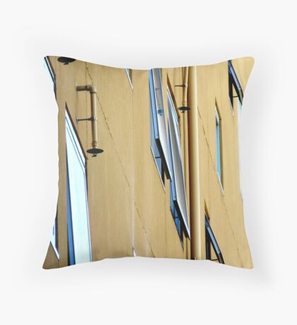 Window Side Profile with Sprinklers Throw Pillow