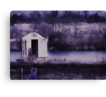 i don't know why this place always makes me feel so lonely Canvas Print
